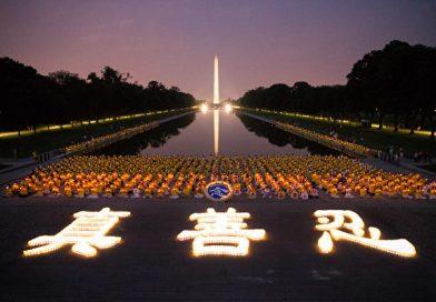 烛光寄哀思 华府悼念被迫害致死的法轮功学员